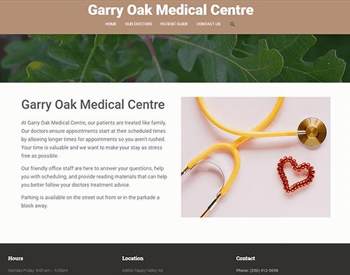 Sample Medical Website
